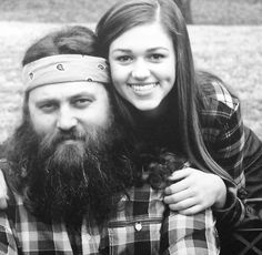 Willie and Sadie Robertson