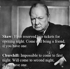 Winston Churchill Quotes 3 - http://twitter.com/SydesJokes