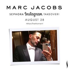 Tomorrow! A very special guest will be making his Marc all over our Instagram feed. Any guesses as to what Marc Jacobs will be posting? Because we honestly have no idea…. #excited