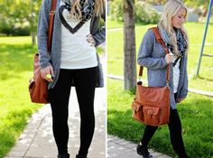 The perfect Fall outfit for moms | Twist Me Pretty