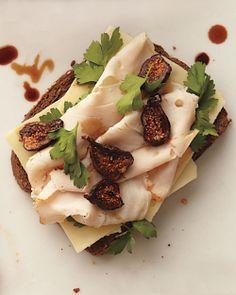 sandwiches, leftover turkey, olive oils, food, bread, recip, turkey breast, fig sandwich, summer lunches