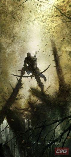 Assassins creed 3 concept art