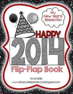 Get your students writing about their goals and resolution for the new year with this FUN and FUNKY Flip Flap Book!  It's cute, fun, interactive, and looks ADORABLE as a bulletin board display!$