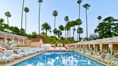 Start planning your next warm-weather getaway with an inside glimpse of the legendary Beverly Hills Hotel's newly renovated pool and patio