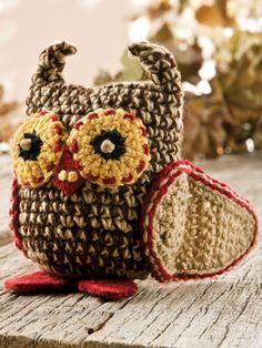 Crochet for Babies & Children - Crochet Gift Patterns for Babies & Kids - Free Crochet Pattern -- Little Hootie