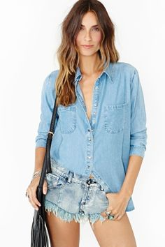 denim meets denim.