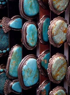 Turquoise concho belts