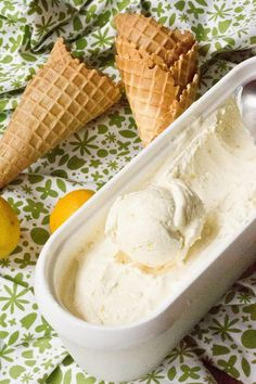 I can't wait to make this Lemon Ice Cream again, especially since you don't need an ice cream maker