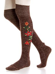 Romanian Folk Socks