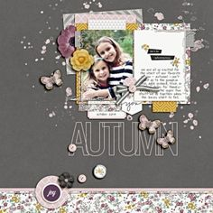 1 photo + journaling + scatters