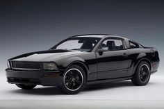 AutoArt 1/18 Scale Diecast model Ford Mustang in Black $89.95