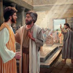 """(John 6:68, 69) """"Lord, whom shall we go away to? You have sayings of everlasting life; and we have believed and come to know that you are the Holy One of God."""""""