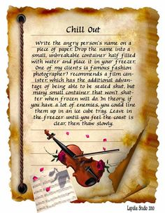 Chill Out Spell