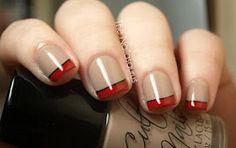 sexi heel, nail trick, red, style, simpl weight, healthi weight, awesom nail, nail idea, nail art