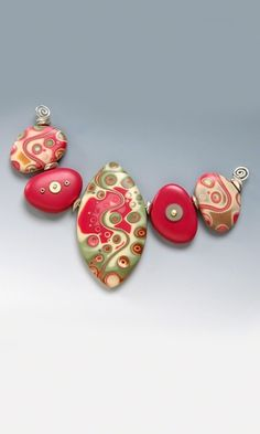 Beads made of Polymer Clay