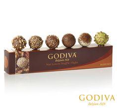 Go Nuts #GODIVA #TruffleTakeoff