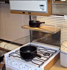 Bright Ideas for your RV - lots of storage and helpful hints here!