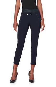 Everyone can rock a pair of fabulous fitted pants! The trick is to find a pair that flatters your curves in all the right places. Enter: this tailored jogger pant from celebrity style icon Kelly Osbourne! Would you go for angola red or classic black?