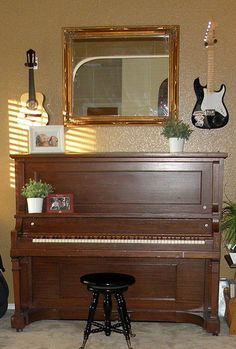 Ideas for paining a piano -- which color is best for your house?  www.houseofhepworths.com