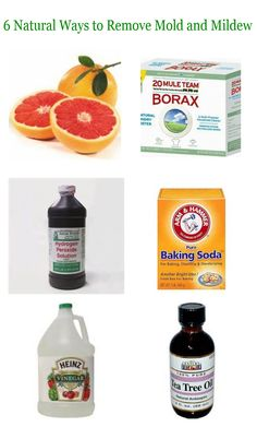 Get rid of mold and mildew without bleach!