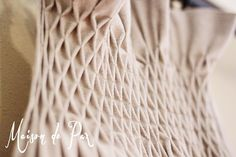 DIY Smocked Drop Cloth Curtains