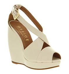 Office White Wedges £68
