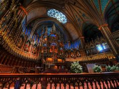 montreal, quebec, church, canada, road trips