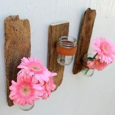 rustic mason jar wall sconces