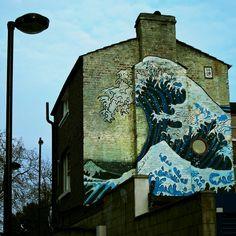 Street Art - Wave