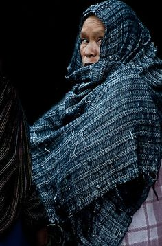 Woman with Rebozo
