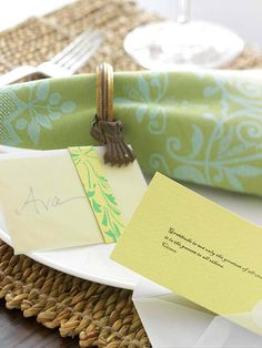 Quotation Napkin Rings