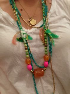 Lovely beads at Erica Tanov