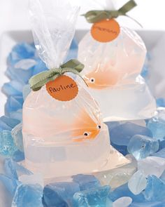 DIY Fish-in-a-Bag Soap by marthastewart #DIY #Soap #Fish