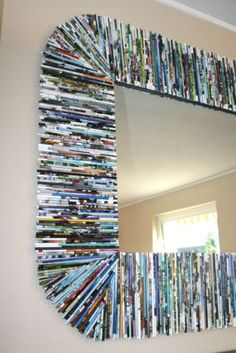 recycle magazine pages into....this!