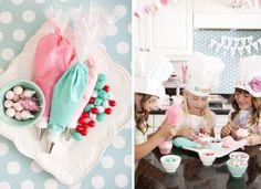 Bakeshop Bake Shop girl themed birthday party via Kara's Party Ideas   KarasPartyIdeas.com