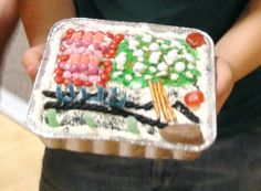 Book of Mormon cake challenge.  Great combined YM/YW activity idea!