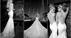 9 Sexy Backless Wedding Dresses & Gowns {2013} - Introducing the new Galia Lahav 2013 Haute Couture  Bridal Gown Collection. Promising elegant domination, feast your eyes upon their backless wedding dresses ♥ #backless #gowns #dresses #wedding