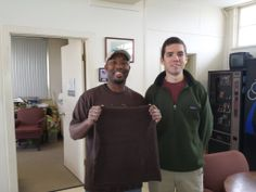 Hinds Community College Private Pilot trainee David Young recently made his first solo flight. Instructor Elliot Royal performed the ceremonial cutting of the shirt tail.