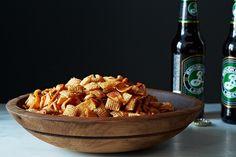 DIY Homemade Chex Mix via Food52 | #food #recipes #snacks