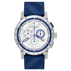 Check Stamped Chronograph by Burberry