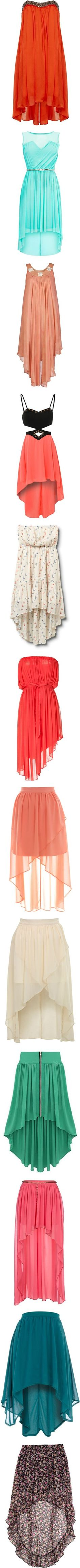 """High Low Dresses & Skirts"" by supergracieloo ❤ liked on Polyvore"