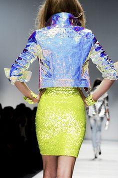 skirt, jacket, fashion weeks, favors, fashion clothes, modern fashion, green, blumarin fall, fashion women