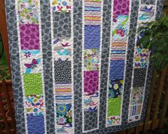 Fly Away Baby/Toddler Girl Quilt