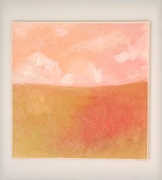 Abstract Landscape Original Painting - Pink | Art Pieces | Brenna Giessen Designs