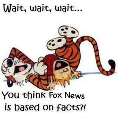 Faux News? No news there, just talking points.