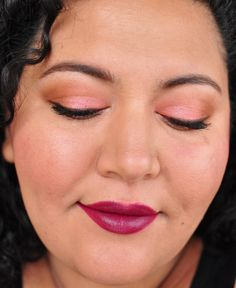 363/365 Days of Makeup 3.0 - with @milanicosmeticsBlack Cherry and Chaos by @Ashlee Frazee Cosmetics