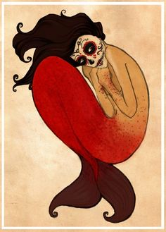 muertos mermaid.
