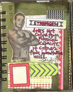 Art Journal 2013 by coreymarie♥com, via Flickr