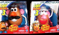Disney Classic Toy Story 3 Mr and Mrs Potato Head Playskool Playset Potatohead #potatohead