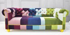 chesterfield patchwork sofa. 2800.00 via Etsy
